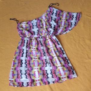 Forever 21 Shoulder Women Mini Dress Small